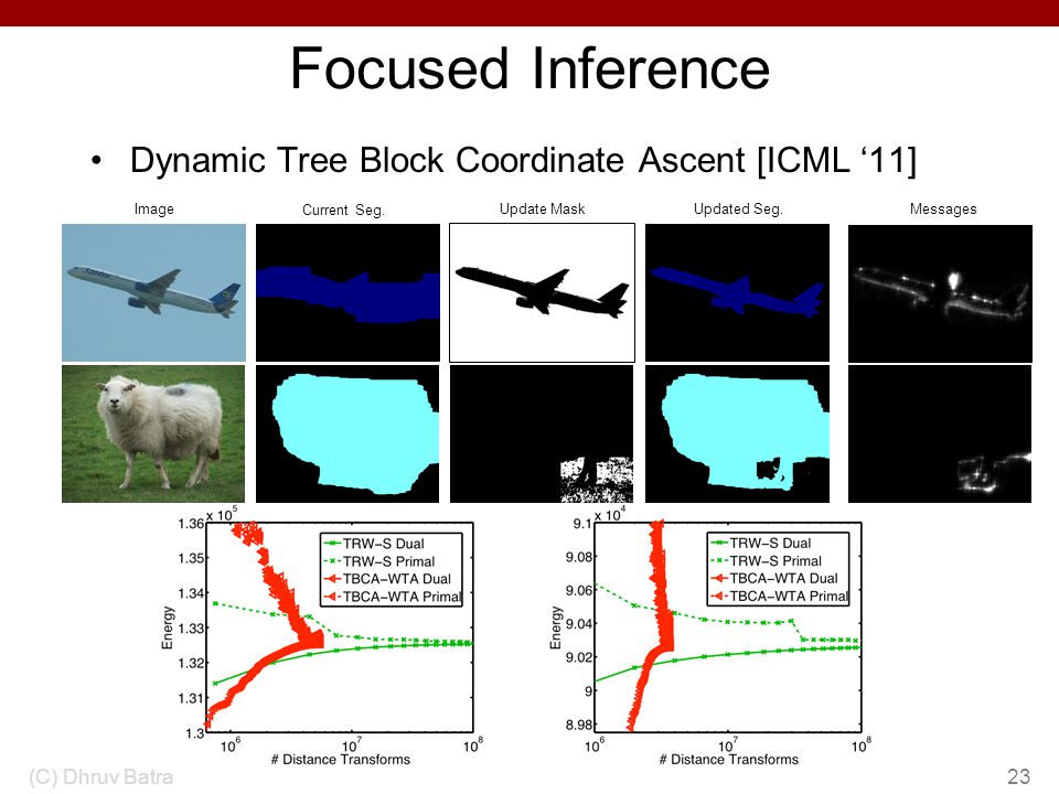 Focused Inference Dynamic Tree Block Coordinate Ascent [ICML '11]